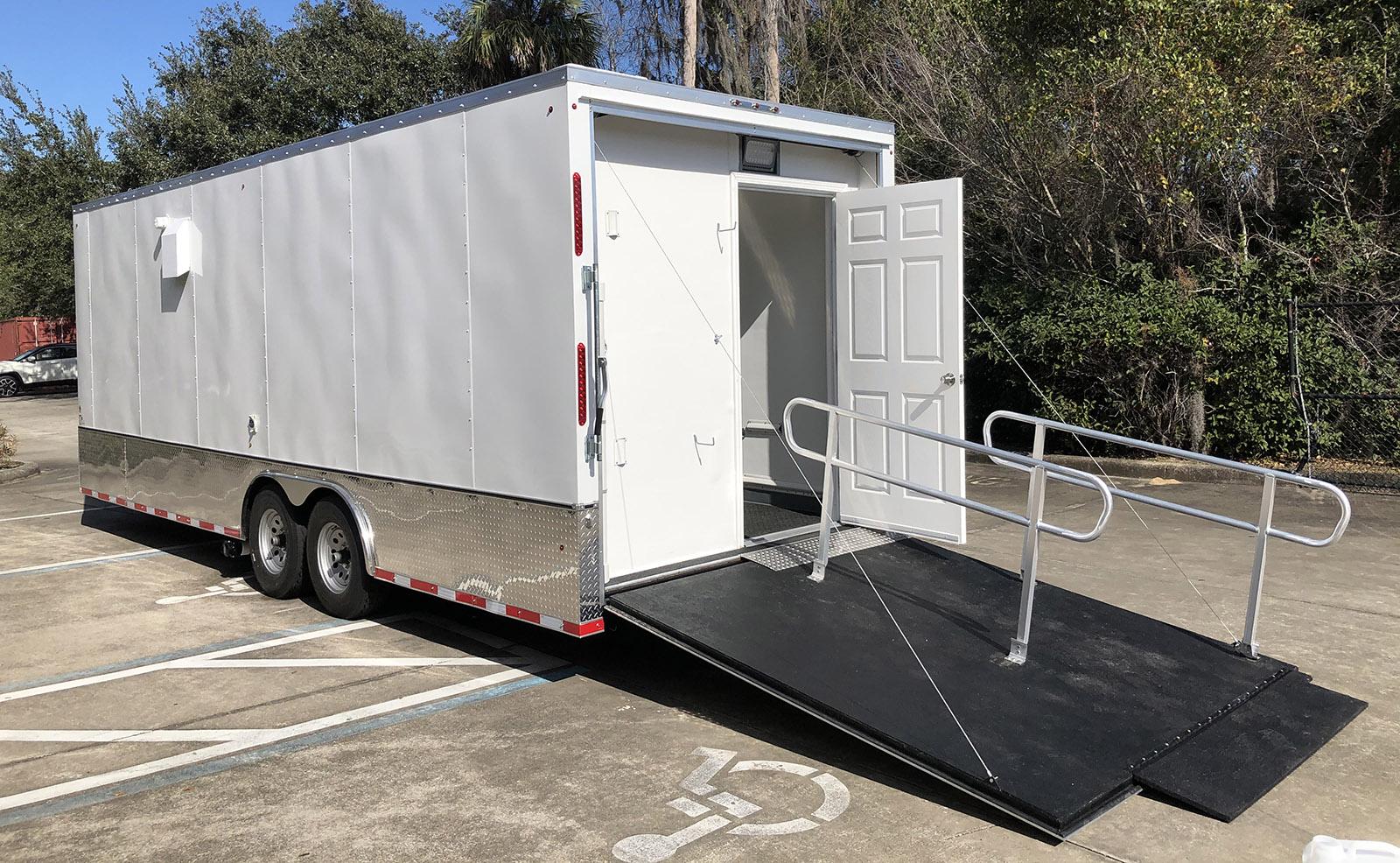 Ramp to ADA Door Vaccine Unit Mobile 2